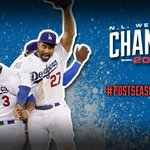 """""""@Dodgers: Its a final! Your NL West champion #Dodgers 9, Giants 1. #LiveBreatheOctober http://t.co/GMxYqyJVsP"""""""
