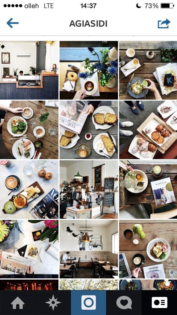 외국의 핫한 인스타그램 유저의 사진인데 좋은 의미의 허세 작렬. 비슷한 느낌의 음식 사진에 꼭 잡지가 들어 있어 ㅋㅋㅋㅋㅋ http://t.co/ozr49MbJGQ