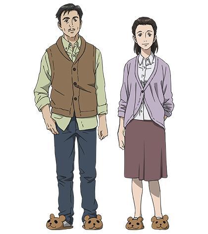 【キャラクター情報】主人公・新一の両親、泉一之と泉信子を公開!CVは相沢まさきさん、笹井千恵子さんに務めていただきます。