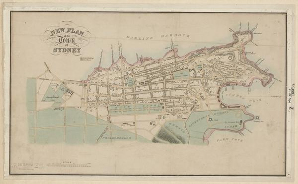 Hand coloured and just digitised! Plan of Sydney 1851 http://t.co/7MU7X9Gg5N #slnswmaps #sydney #darlingharbour http://t.co/bfqTBfhIEo