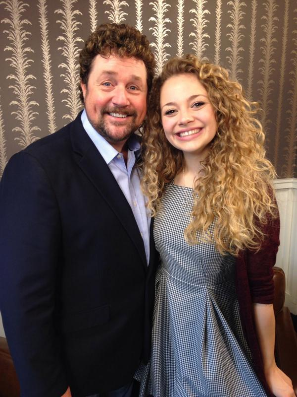 My gorgeous daughter from Chitty 2002 @CarrieHFletcher has grown into the most beautiful and bright young woman.  http://t.co/YUF9LEhWSd