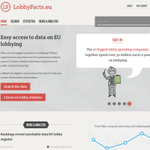 Find, filter, compare and analyse #EU #lobbying data. Check out new research tool http://t.co/6KRtq6WIn7 #lobbyfacts http://t.co/pCJWHH5VuO