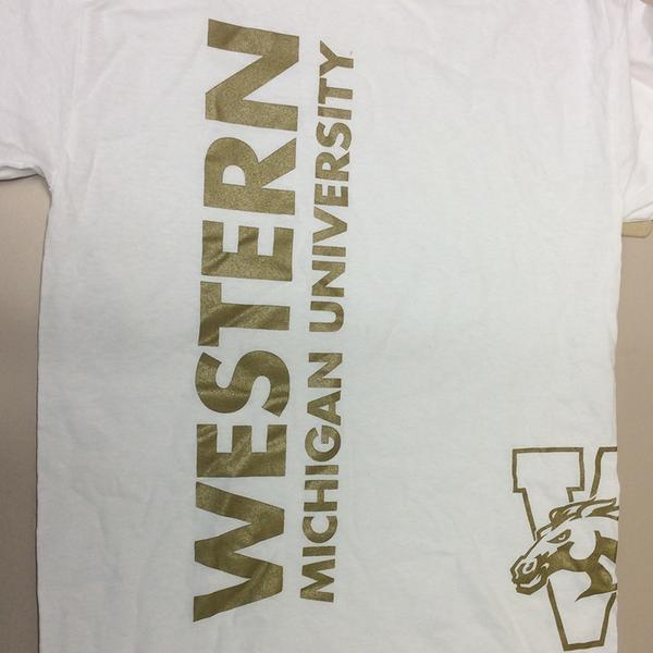 When we hit 5,000: We will be raffling off 5 of these exclusive MyWMU Social Media T-Shirts! RT to win! http://t.co/Oqyqiwpcgx
