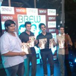RT @Varunmanian: @karthiksubbaraj @Actor_Siddharth Brew magazine launch. Fun event. Thanks Sameer and Venket