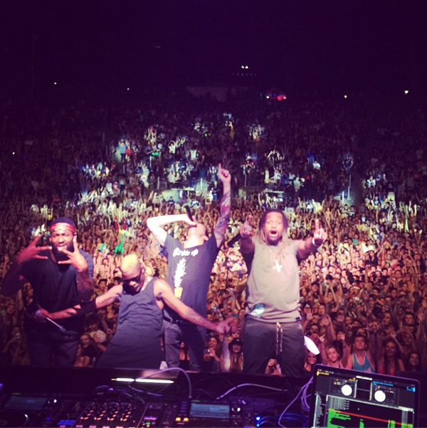 Performed with @DILLONFRANCIS at the sold out Mad Decent Block Party Berkeley last Friday! #Rej3ctz #TimeMachine #TBT http://t.co/KWugvfOtqz