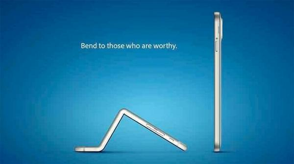 Samsung just tweets a brutal jab at #Apple bendy iPhone 6 Plus http://t.co/Q7iP8bX7b2 http://t.co/VCDDQ4EE8R