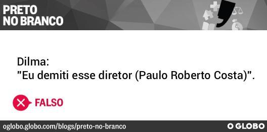 #PretonoBranco checou frase de @Dilmabr sobre corrupção na Petrobras no #DebatenaGlobo. http://t.co/kFTx4qA1kc http://t.co/XDijTYYA4m