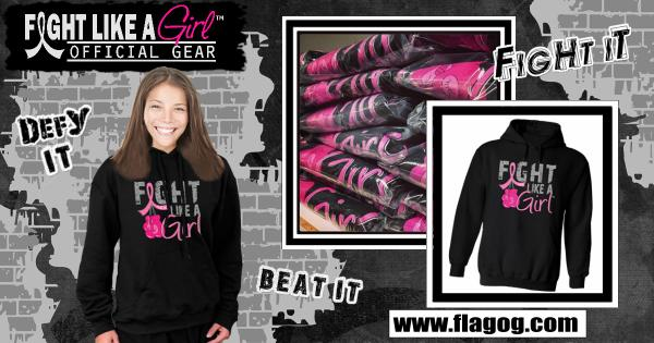 FLASH GIVEAWAY! Retweet & win an official Fight Like a Girl hoodie! Or you can buy one here >> http://t.co/qE3pxrfhms http://t.co/8Pjy0WPfg0