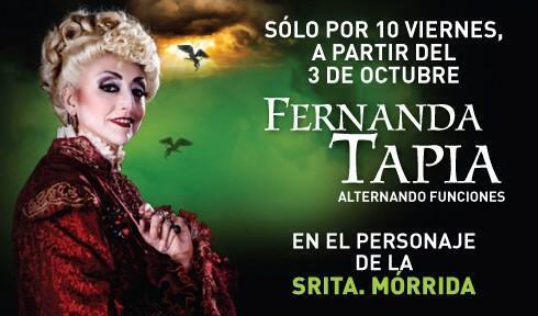 Irais Rasgado (@iraisrs): Ya viene el debuuut de la jefa @TapiaFernanda en wicked!!!! http://t.co/Zj6CDzUt7A