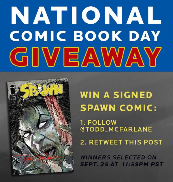 There's a holiday for EVERYTHING! RT for a chance to win a FREE & SIGNED comic. http://t.co/CX1Qpqikhi