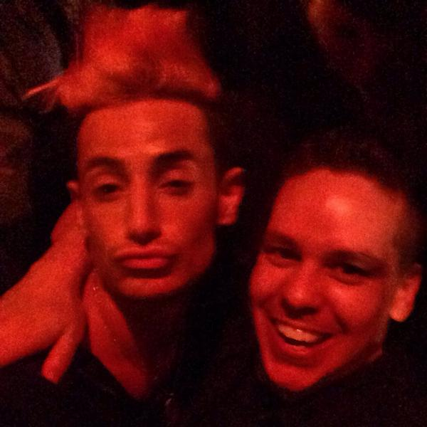 @FrankieJGrande and @designgeorge24  at the #BB16 party at @ElevenNightclub in #WestHollywood! #BBFrankie http://t.co/1EpDqkbGD0