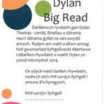Dylan Big Read - rydym am weld a allwn annog holl gwsmeriaid Llyfrg. Abertawe i ddarllen rhywfaint o waith Dylan! http://t.co/ZnnyrdXBrN