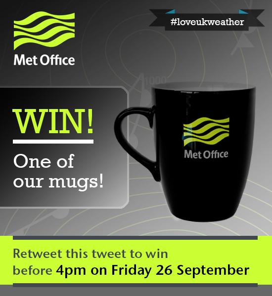 Got that Friday feeling? RT to win a mug! Closes 4pm today. T&Cs: http://t.co/vaUt6eguJe #loveukweather http://t.co/9sFZkDzJjC