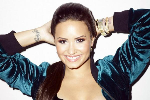 Congrats are in order for @ddlovato - she's the first celebrity face of @nycnewyorkcolor!