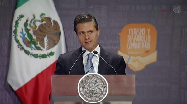 H.E. Enrique Peña Nieto, President of #Mexico, speaking at the #WTD2014 Ceremony in Guadalajara @PresidenciaMX http://t.co/2YwSqCi2O7