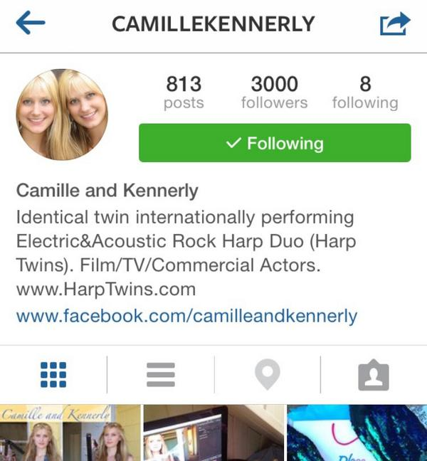 @CamilleKennerly congrats on 3k instagram followers http://t.co/8cXfxnVDuC
