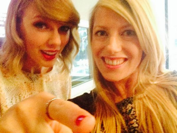So this just happened! Hear my interview with @taylorswift13 on @999virginTO October 27th! #Hollywood360 #1989 http://t.co/2wBfnJVYUt