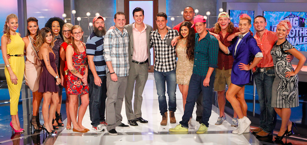 Dr. WILL KIRBY (@DrWillKirby): Exclusive picture from the #BB16 Finale! Can you name everyone in this photo? http://t.co/eZuDnuWtmy