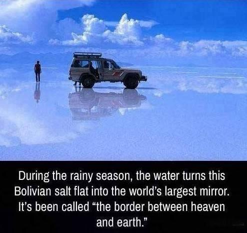 The border between Heaven and Earth: http://t.co/1L1bRuLlth
