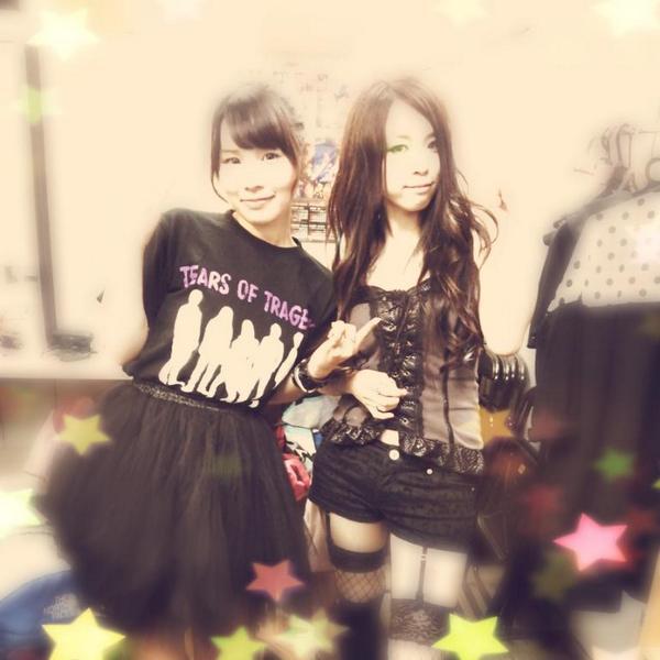 遼✡HARUKA (@Haruka_Tears): 半年ぶりの東京❢❢吉祥寺CRESCENDO終了しました( ・ิω・ิ)参加の皆様、ありがとうございました〜♬✨ マリナチャンめちゃいい子やった〜(๑´`๑) かわかっこいい〜♡♥ http://t.co/pqxmxrf14d