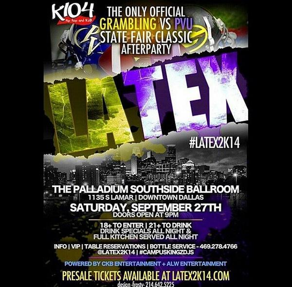#latex2k14 L E G E N D A R Y!!!!!! 1135 S Lamar St Dallas tx at the Palladium Ballroom!!!! http://t.co/crDJleQhip