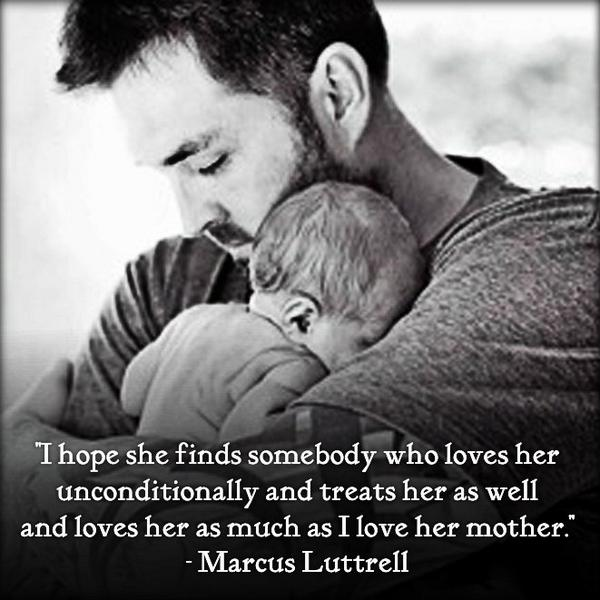 The #LoneSurvivor's message for future boys looking to date his daughter! http://t.co/OMgWGOf9u5