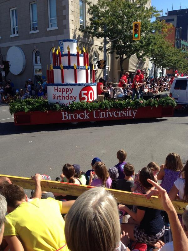 Happy Birthday @BrockUniversity !!! #grapeabdwine http://t.co/230KQDuPzF