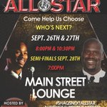HOUSTON support ur local comics 2 potentially become #TheNextShaqComedyAllStar 2night & 2morrow #MainStreetLounge http://t.co/5oMSF9j60c