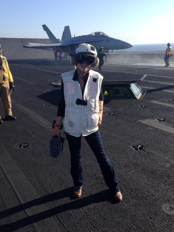 RT @greenbergerj: The one and only @MarthaRaddatz, anchoring from the front lines of the ISIS fight, tmrw on @ThisWeekABC. Tune in! http://t.co/5E5WEKsduO