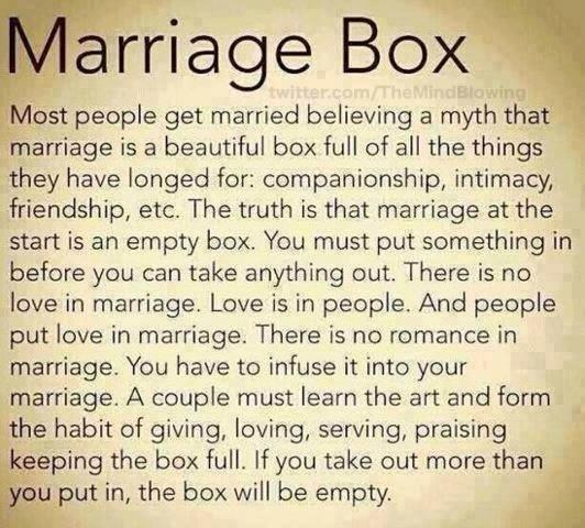 The Marriage Box: http://t.co/xlG9GwCguS