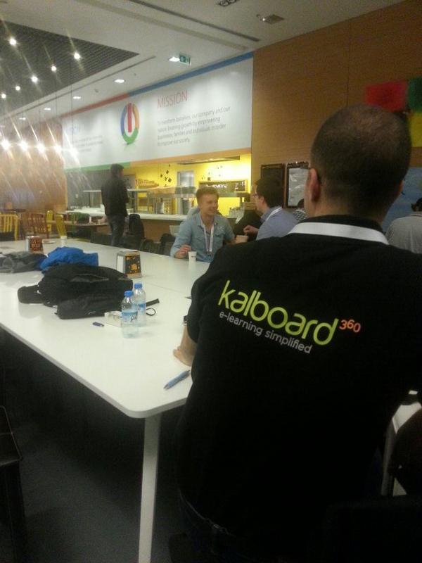 @Kalboard360 is here.  #StartupIstanbul http://t.co/ypnPtAhkOc