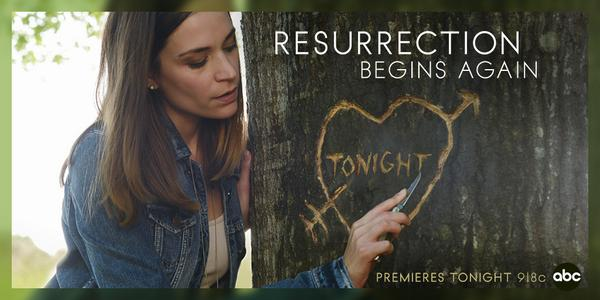 "brb just carving our S2 schedule into local trees ""@Resurrection: Season 2 premieres TONIGHT http://t.co/x3yF42RS4x"" #resurrection"