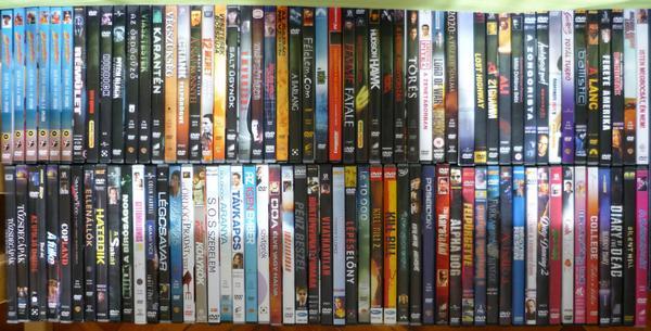 103 darabos DVD gyűjtemény, gyűjtőtől eladó. Ára 25.000.- huf. RT-t megköszönöm! http://t.co/nTaskZE7xl