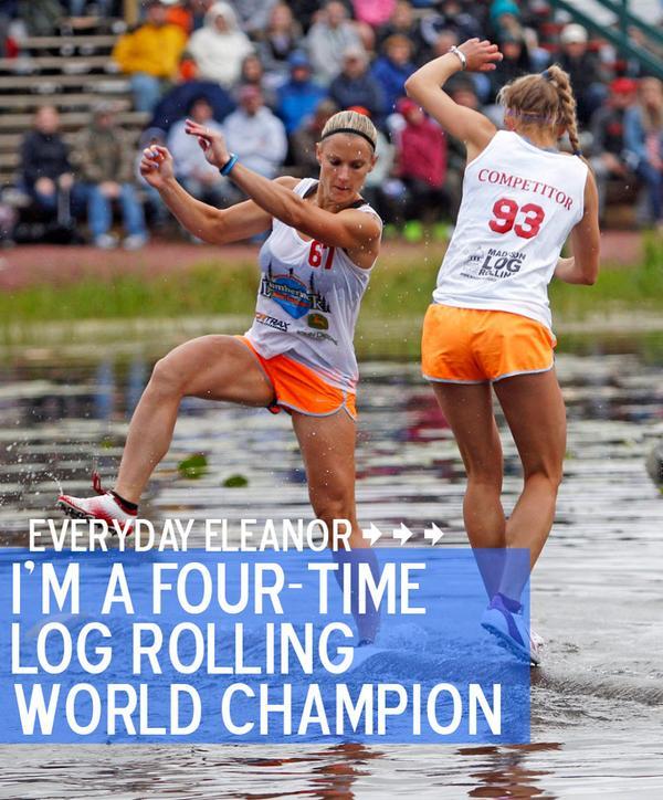 Lumberjack athlete @shanamartin talks pre-game jitters, + her connection to @HDSA http://t.co/oJGsr9anhC #heyeleanor http://t.co/5GmOQwdLjO