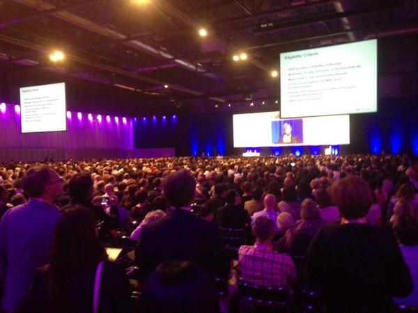 Standing room only as Sandra Swain speaks at ESMO presidential symposium #ESMO14 #breastcancer http://t.co/uz4K4Hnoma
