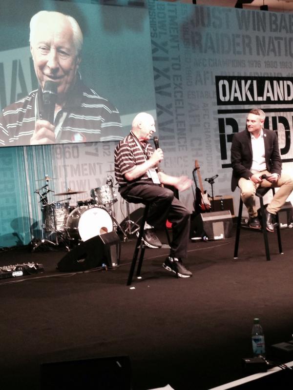 . @ProFootballHOF player Fred Biletnikoff talks pregame about Madden, Al Davis & @RAIDERS #NFLUK http://t.co/IYYuI8ssUN