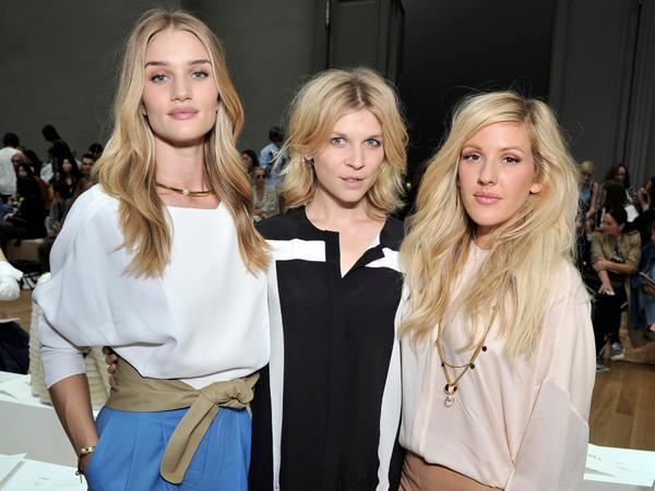 #chloeGIRLS @RosieHW, @C_Poesy and @EllieGoulding at our #SS15 show in Paris #PFW http://t.co/yG5zBVZ8xg