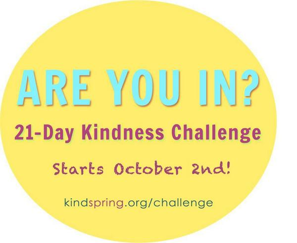 Hope you're having a #SoulfulSunday today. commit to kindness this week and join us in the  #kindspring21 challenge! http://t.co/OlXNWS1yjV