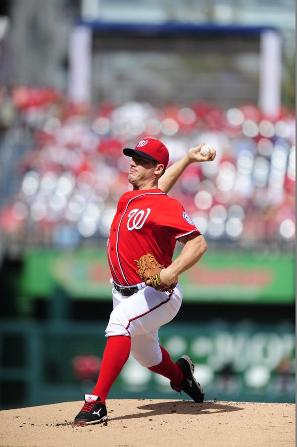 THAT'S A FINAL!! Jordan Zimmermann has thrown the first NO-HITTER in #Nats history!! 9 IP, 0 H, 0 ER, 1 BB, 10 K http://t.co/jQROSsneey