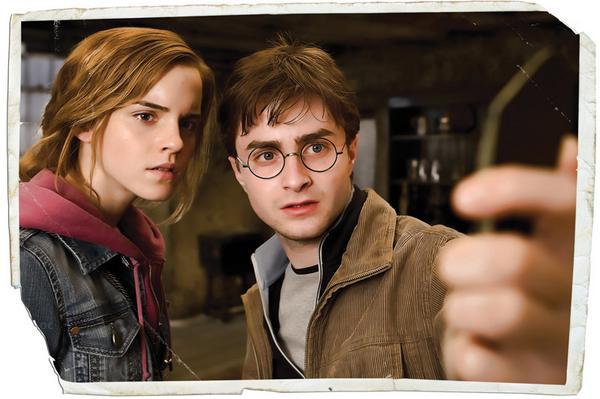 Y llega la escena que parece selfie. #HarryPotterC5 http://t.co/GeMG4Pjcro