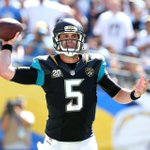 RT @ESPNNFL: Blake Bortles posted the highest comp % of any ROOKIE QB in their 1st career start - min. 30 att (78.4%). http://t.co/j7yPvq4H9q