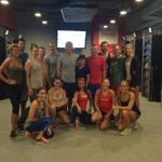 Was fun getting my ass kicked by the @fitwall crew here in Solana Beach tonight. What a tough workout! http://t.co/9JlZY4qe9j