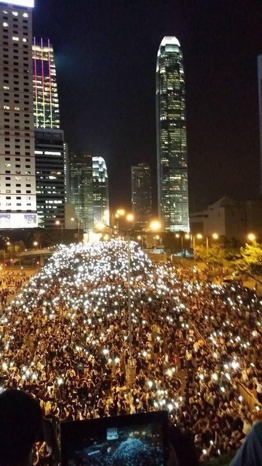 Hong Kong tonight.#hk929 http://t.co/UVBjphnM5I