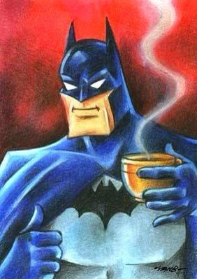 Even Batman needs coffee Happy #NationalCoffeeDay http://t.co/PEBOZTW2pr