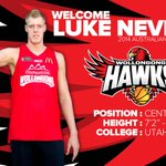 """Welcome 7'2"""" @AussieBoomers Centre Luke Nevill. See Luke at our first game on October 10. http://t.co/NWu6jomgg9 http://t.co/Q1Y2jNJUkL"""