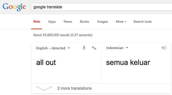 """Saya perintahkan """"All Out"""" dukung Pilkada langsung! Apa kata Google terjemahannya """"All Out""""?  http://t.co/7tXuViT14K http://t.co/uV3yDbbKdg"""