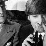 John Lennon sniffing Coke http://t.co/azv3DELZiv
