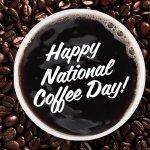 RT @DunkinDonuts: Happy #NationalCoffeeDay! Celebrate with a FREE medium New Hot Dark Roast coffee! http://t.co/2zrCu4uVN3