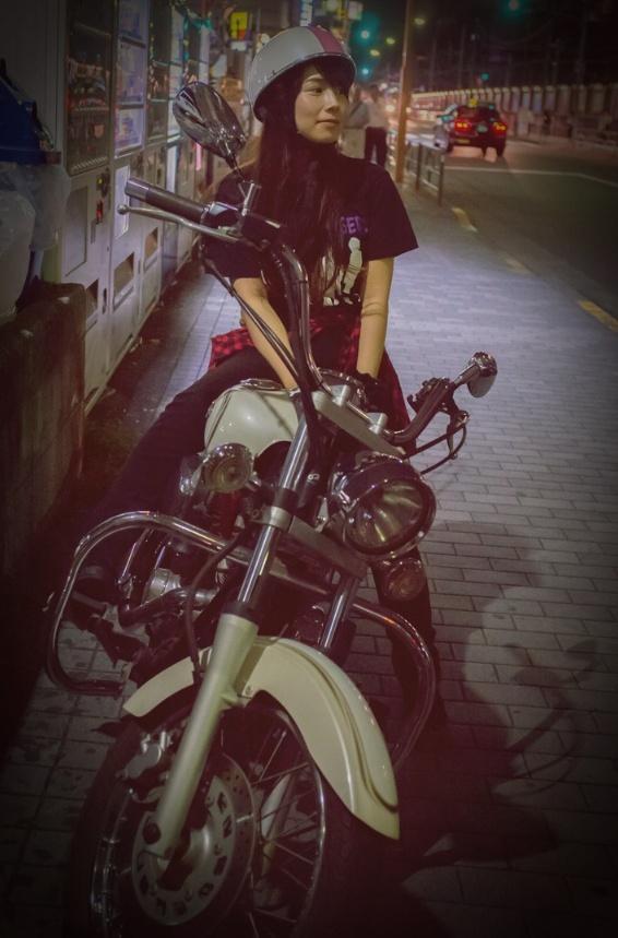遼✡HARUKA (@Haruka_Tears): バイク歴5年になりました( ・ิω・ิ) 過去にガソリン入れた回数も5回くらいかな?年1回❢❢www http://t.co/GZinJjtQ9D