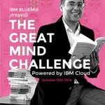 RT @ajityohannan: Chetan Bhagat to kick off The Great Mind Challenge. October 15th Bangalore. Be there to meet @chetan_bhagat #ibmtgmc http://t.co/iMDujSRFzt